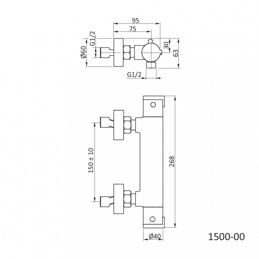 termostatska-armatura-za-tus-tehnicna-skica