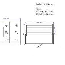 bio-zeliscna-solna-savna-250x180x220-cm-elite-rdeca-cedra