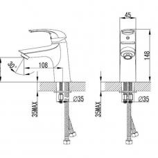 armal-start-armatura-za umivalnik-krom-enorocna
