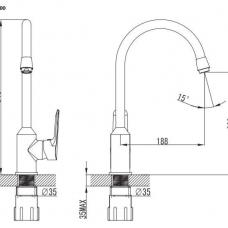 armatura-za-kuhinjsko-korito-demi-krom