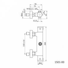 termostatska-armatura-za-prsni-sistem-tehnicna-skica