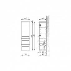 stranska-omara-tboss-milano-120-cm-1-vrata-2-predala