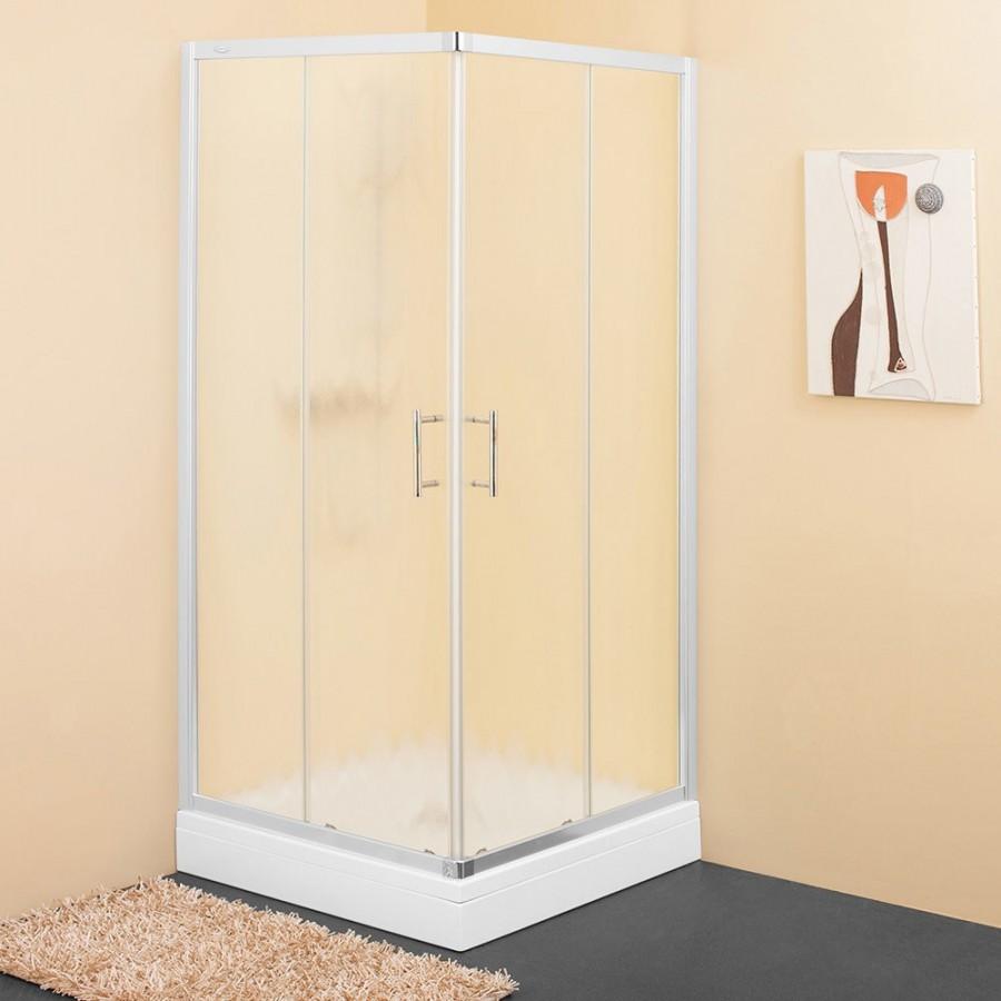 kotna-tus-kabina-sq-line-tkk-70-90-srebrni-profili-prozorno-steklo